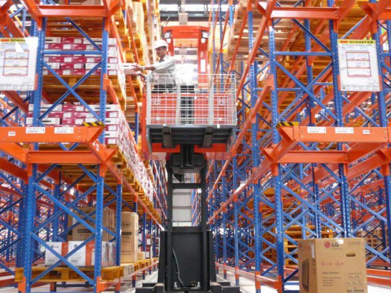 VNA machine at work - ProConnect Warehouse