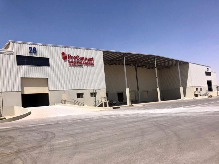 ProConnect Warehouse Exterior View - KSA