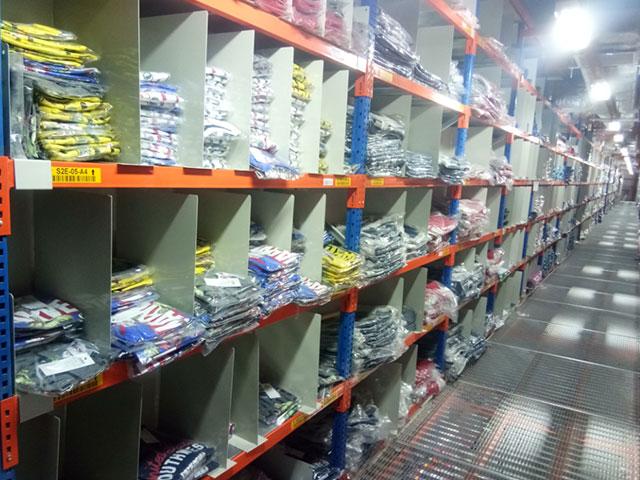 Shelving at ProConnect Warehouse - KSA